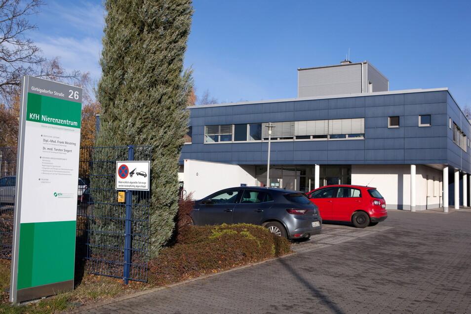 Das heutige KfH Nierenzentrum auf der Girbigsdorfer Straße in Görlitz. Hierher kommen auch die Dialysepatienten.
