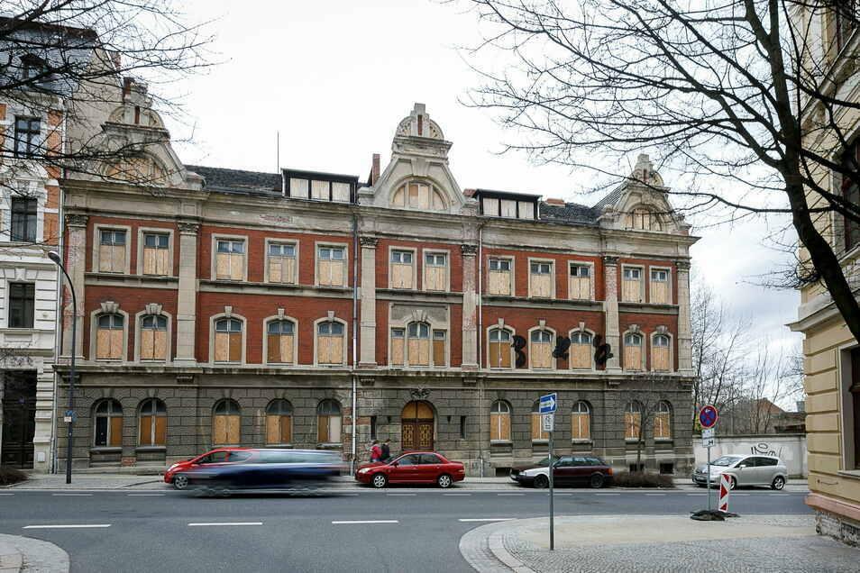 Hier sollte der Eingang zur neuen Oberschule in Görlitz sein, auf der Rauschwalder Straße in der Innenstadt West.