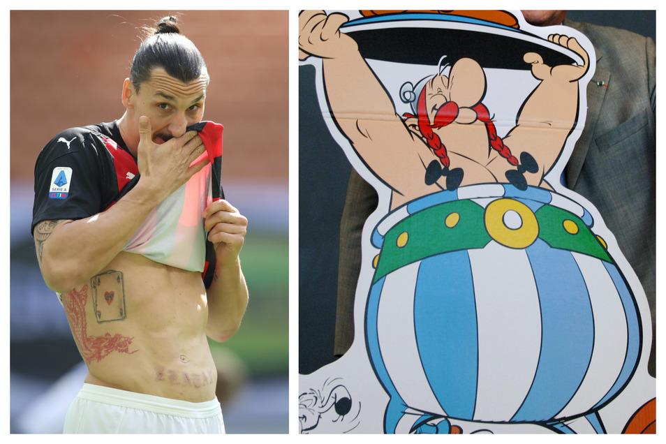 Zlatan Ibrahimovic wird in einem Asterix-Film mitspielen.