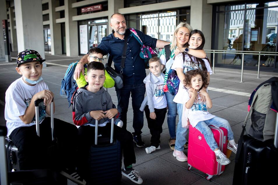 Familie Imerlishvili ist wieder zurück in Deutschland.
