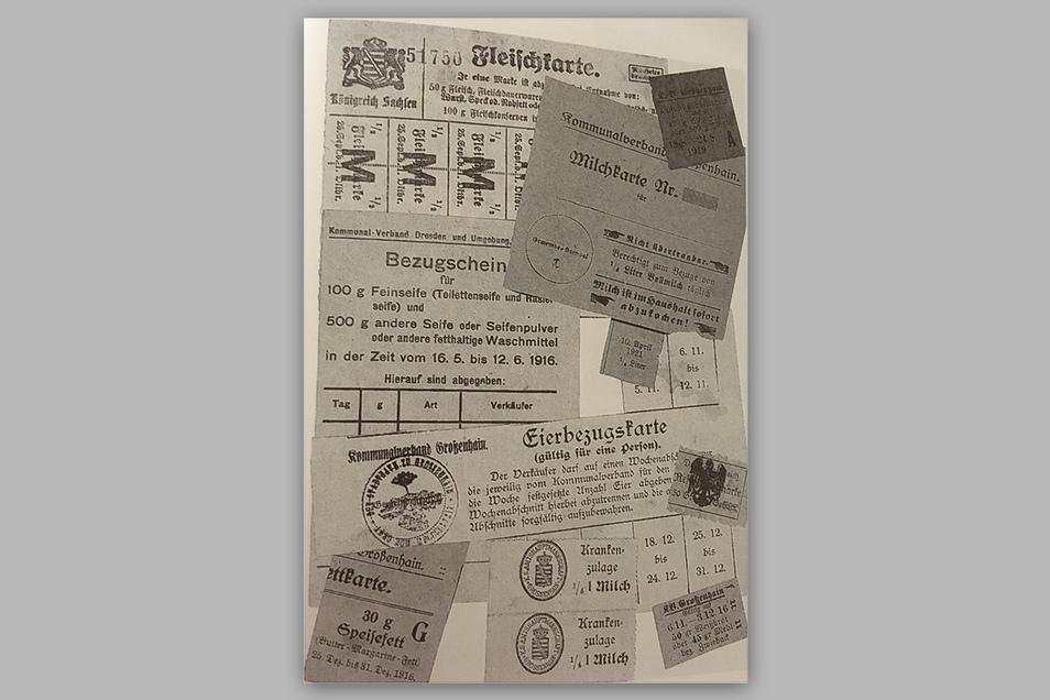 Lebensmittel und andere Güter waren 1918 rationiert und nur mit Marken bzw. Karten erhältlich. Das spielte auch der Spanischen Grippe in die Hände.