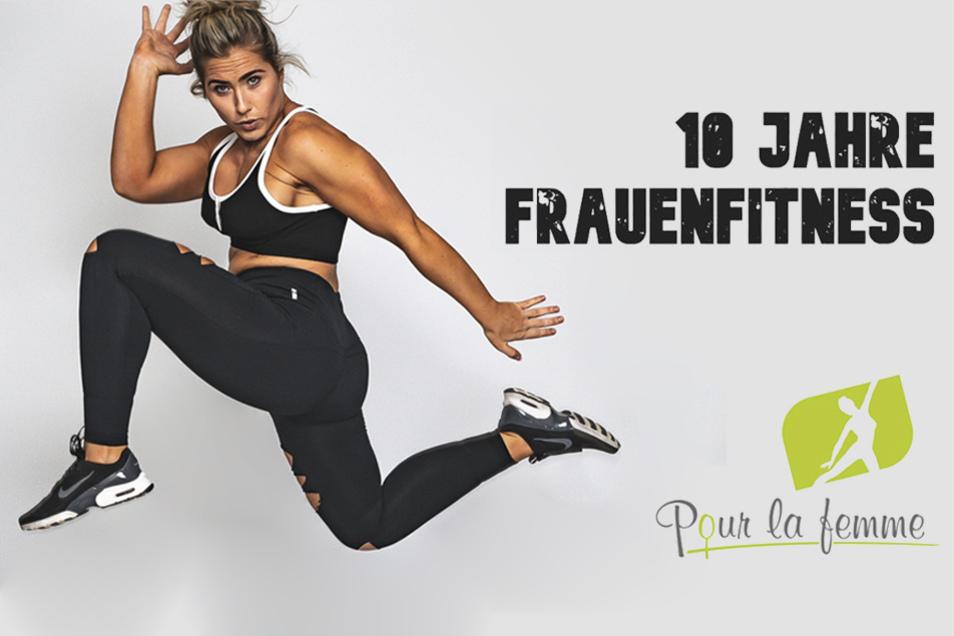 """Das Frauensportstudio """"Pour la femme"""" feiert sein 10-jähriges Jubiläum."""