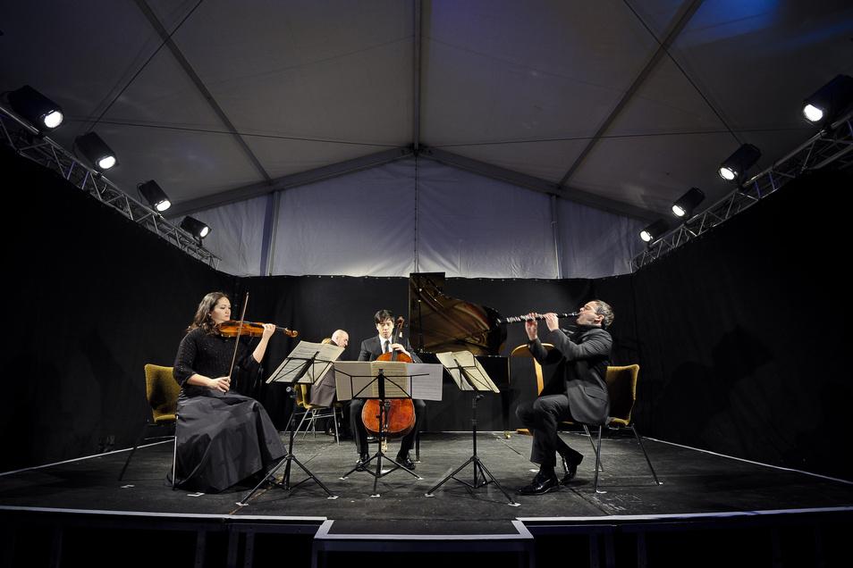Seit Jahren wird immer am 15. Januar in Görlitz Messiaens Quartett auf das Ende der Zeit aufgeführt. 1941 fand an dem Tag die Uraufführung im Görlitzer Kriegsgefangenenlager statt.