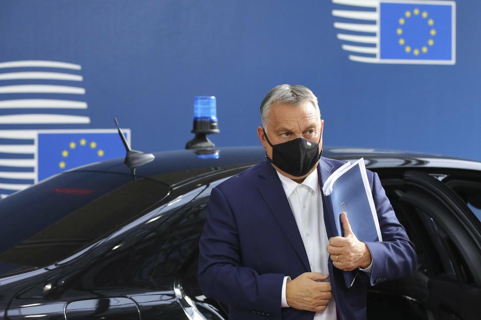 Ungarns Präsident  Viktor Orban hat einmal mehr Ärger mit der EU