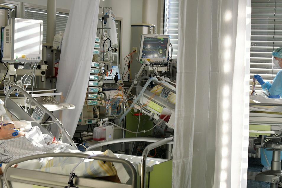 Am Leipziger Uniklinikum liegen derzeit mehr Corona-Patienten auf der Intensivstation als während der ersten Welle im Frühjahr.