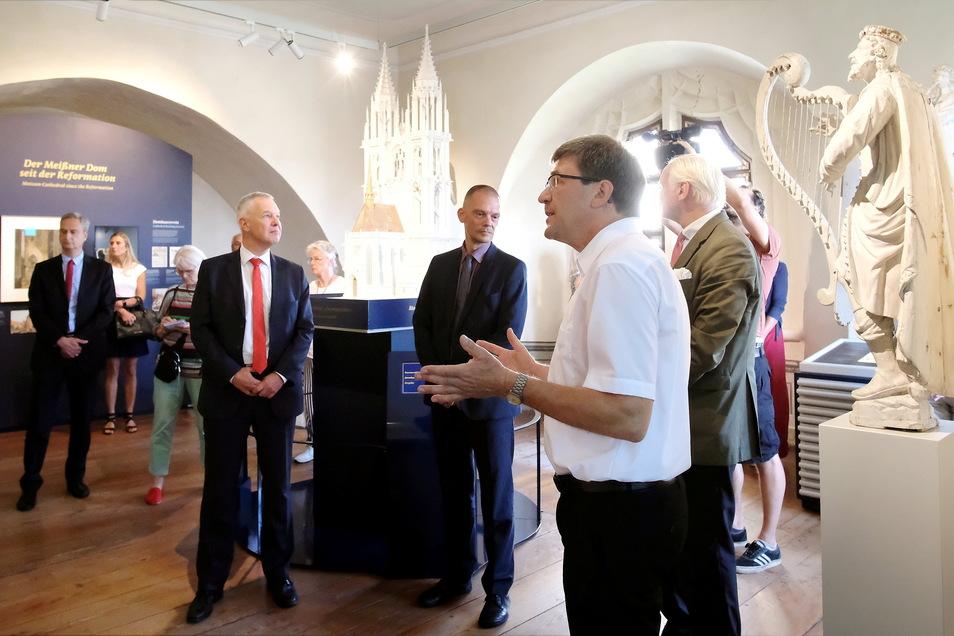 Am Dienstag wurde das Dommuseum in Meißen offiziell eröffnet.