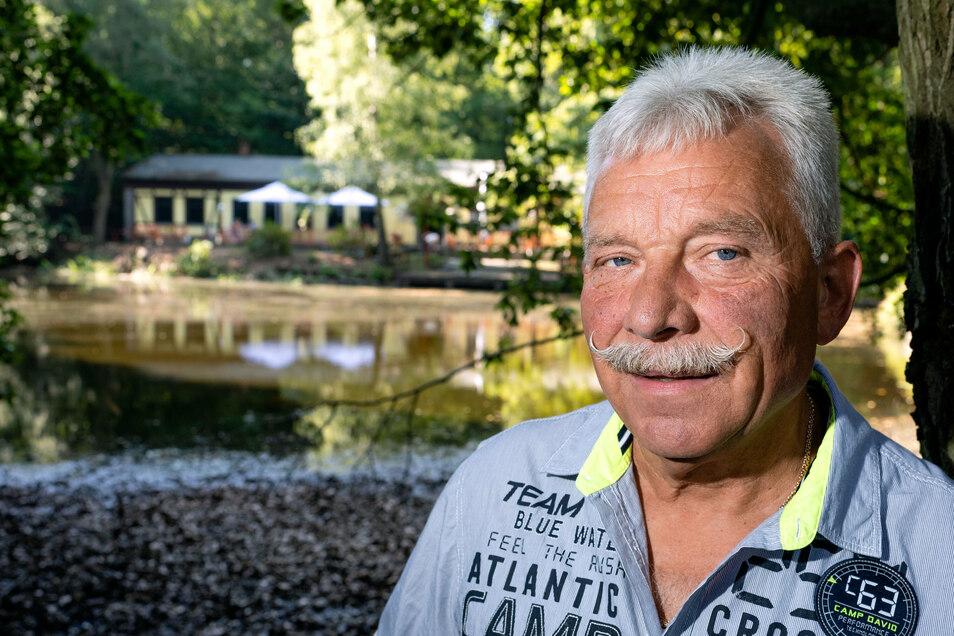 Michael Melcher ist der neue Inhaber der Valtentalseebaude in Neukirch.