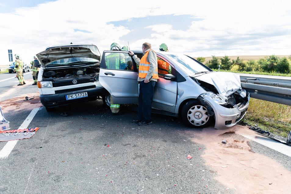 Im Sommer 2019 kam es auf der A 4 kurz vor der Abfahrt Ottendorf-Okrilla zu einer Massenkarambolage. Insgesamt kollidierten fünf Fahrzeuge. Nicht der einzige schwere Unfall im vergangenen Jahr.