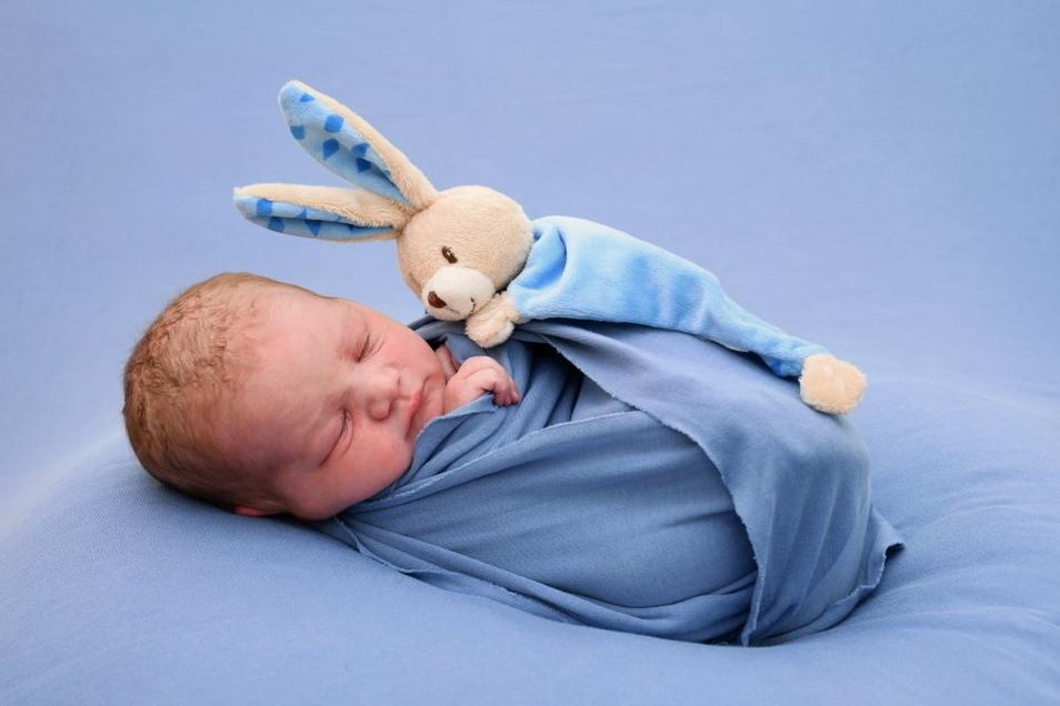 Tomas Benjamin, geboren am 29. Juli, Geburtsort: Freital, Gewicht: 3.110 Gramm, Größe: 52 Zentimeter, Eltern: Anita Szabo und Christian Gyetvay, Wohnort: Freital