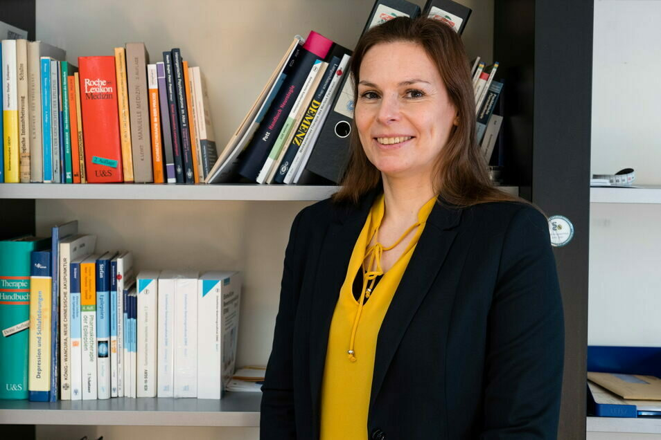 Anke Baumann ist Fachärztin für Psychiatrie und Psychotherapie und seit Jahresbeginn im MVZ Martinshof tätig.