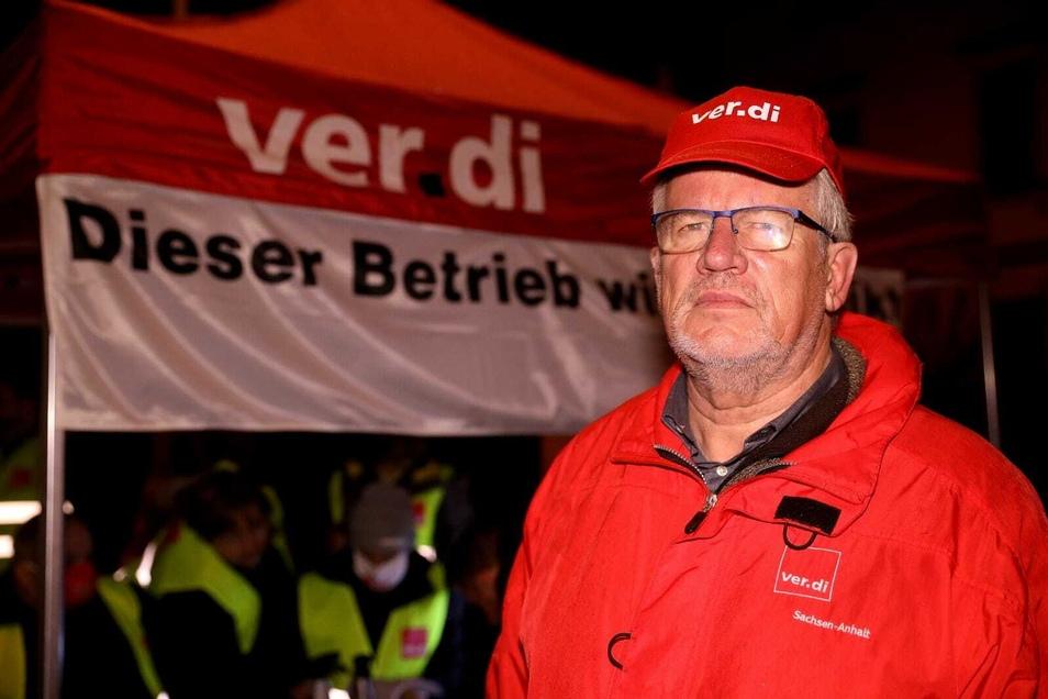 Gerd Doepelheuer findet, das aktuelle Angebot der Arbeitgeber sei seinen Namen nicht wert.
