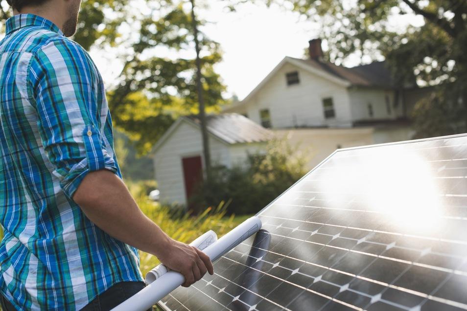 Investitionen in eine eigene Solaranlage liegen voll im Trend.