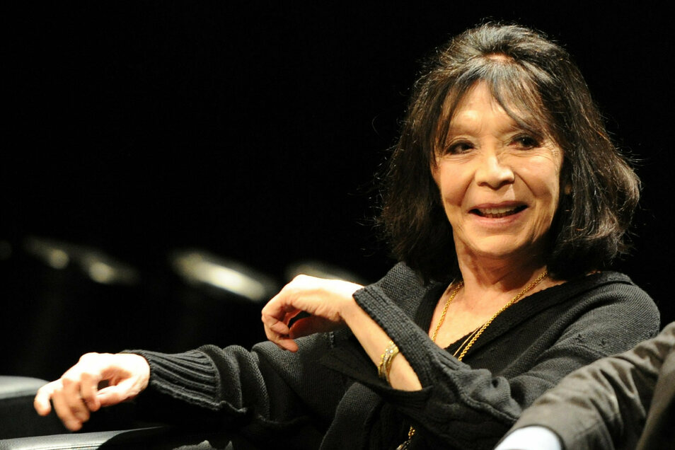 Juliette Greco 2012 in Hamburg.