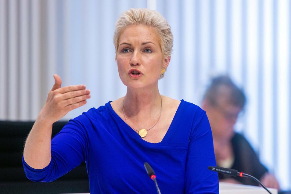"""""""Das geht gar nicht"""": Manuela Schwesig (SPD), Ministerpräsidentin von Mecklenburg-Vorpommern"""
