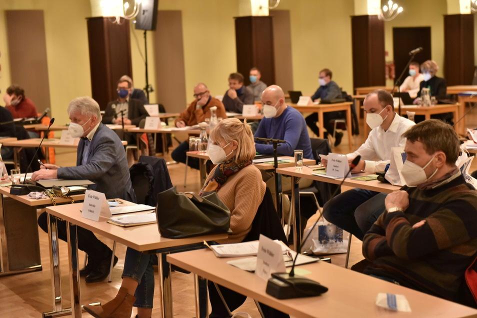 Hier hat der Stadtrat Dippoldiswalde zuletzt getagt -  im Dezember 2020. Derzeit laufen alle Diskussionen, auch über die laufende Haushaltsplanung, virtuell.