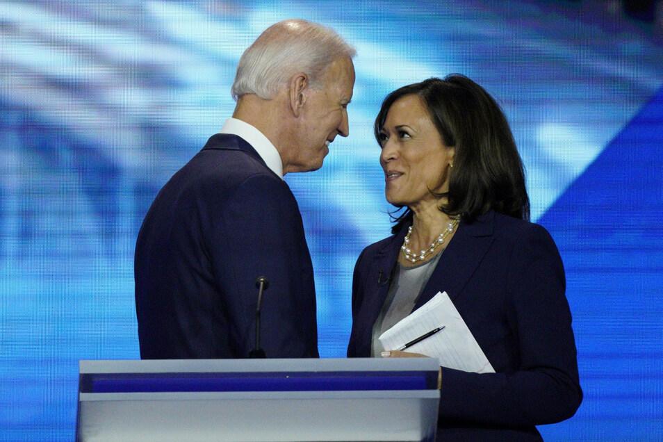 Soll Joe Bidens Vize-Kandidatin werden: Kamala Harris