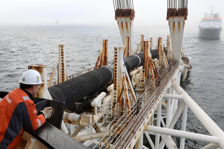 Trotz Sanktionen: Russland geht von Fertigstellung von Nord Stream 2 aus