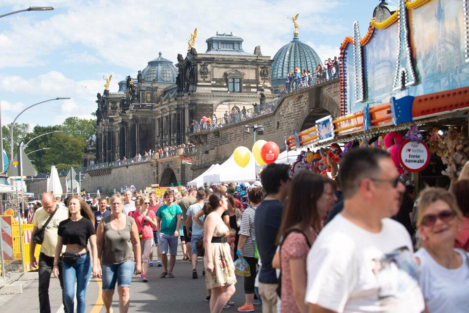 Volle Straßen wie beim Stadtfest 2019 darf es dieses Jahr nicht geben. Das Stadtfest muss deshalb 2020 ganz ausfallen.