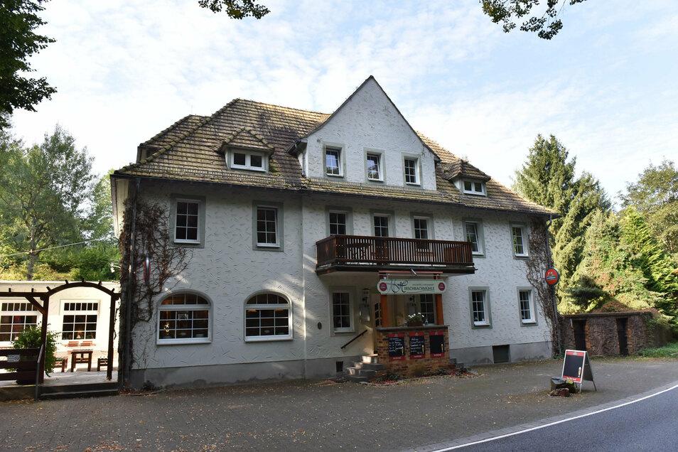 Die Gaststätte an der Lockwitztalstraße gehört zu Hirschbach bei Glashütte.