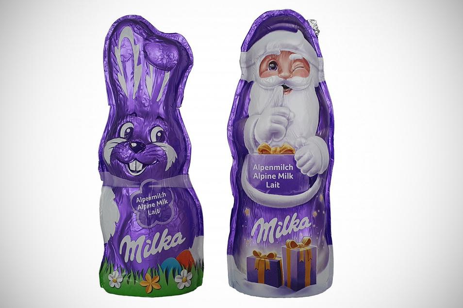 2. Platz: Milka Osterhase & Weihnachtsmann, Mondelez, 4.035 Stimmen, (18,8 Prozent)