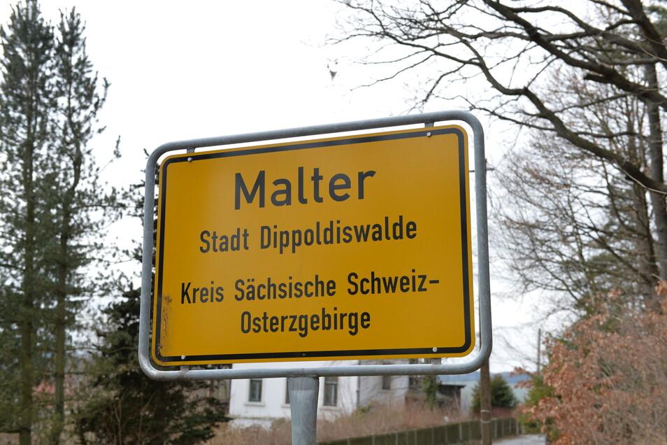 Malter ist einer von drei Dipper Ortsteilen, in denen die Ortschaftsräte mehr Mitglieder benötigen.