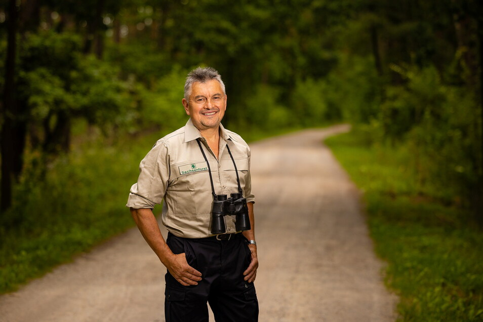 Ranger Andreas Kirste kennt das Naturschutzgebiet wie seine Westentasche.