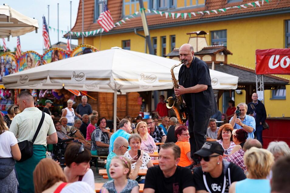 So war es 2018 zum Stadtfest in Heidenau und so ähnlich wird es im September an zwei Wochenenden werden.