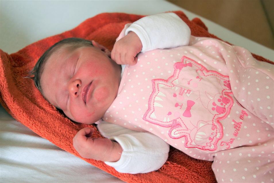 So klein und schon ein Jubiläum: Lea Sophie ist das 400. Baby des Jahres im Helios Klinikum Pirna.