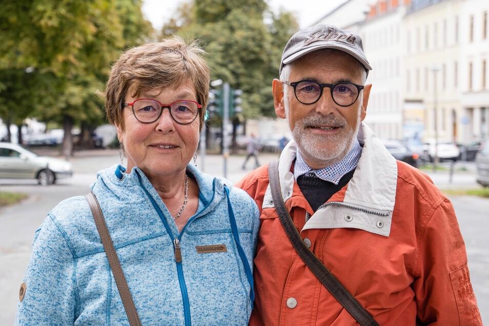 Renate (65) und Gottfried Raschke (69), Chemnitz