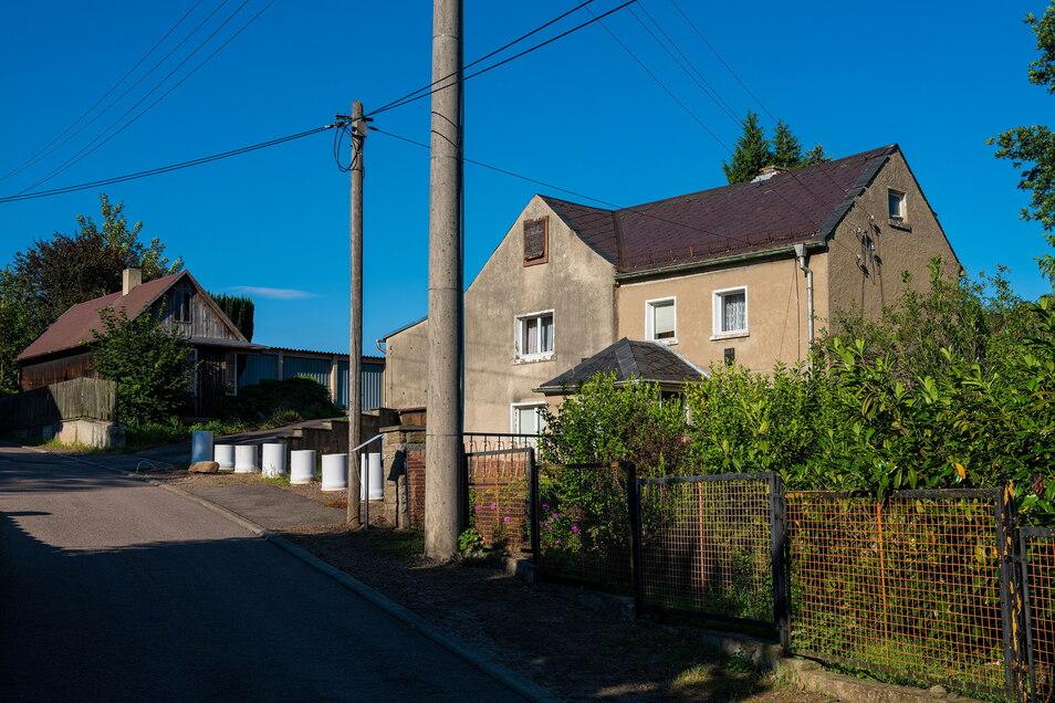 Das Geburtshaus von Wulf Kirsten in Klipphausen.
