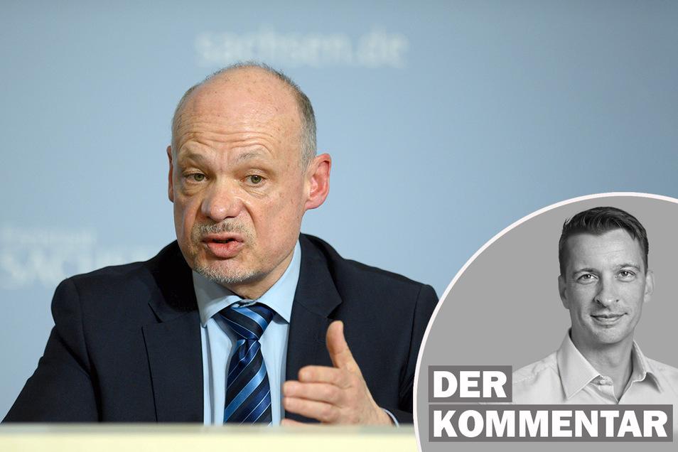 Petric Kleine, LKA-Präsident von Sachsen, wurde entlassen.