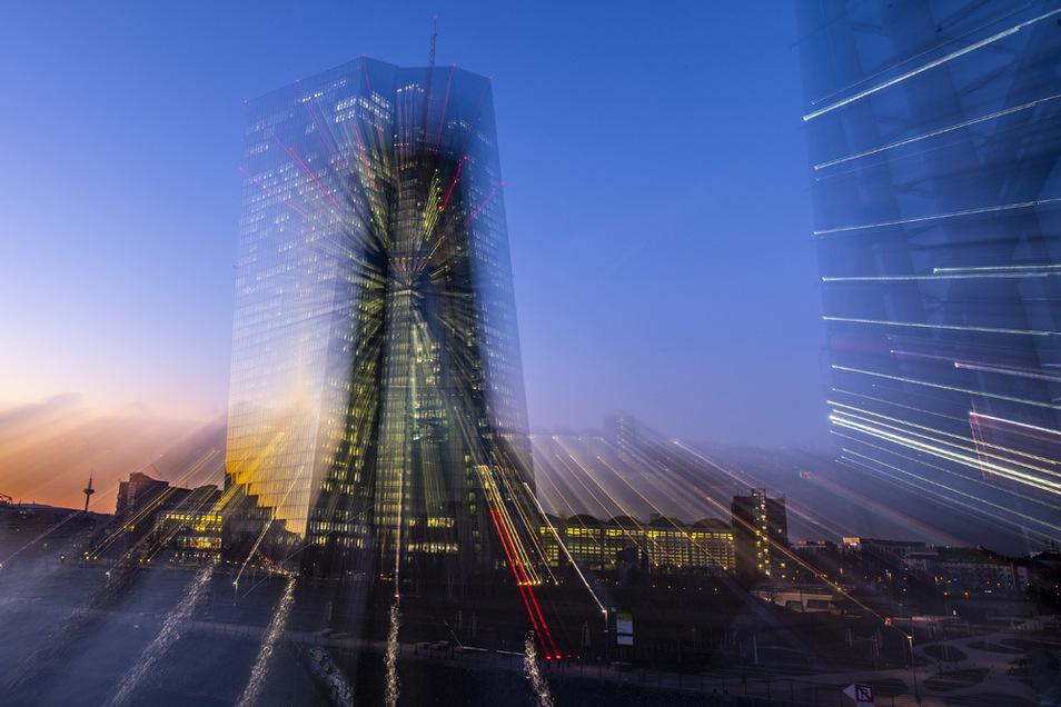 Die EZB-Schaltzentrale in Frankfurt/Main.