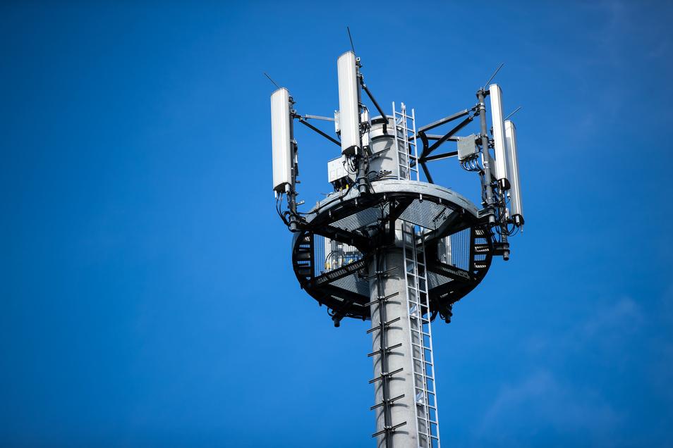 So könnten die Antennen auf dem neuen Funkmast in Liegau aussehen. Die Anlage soll am Leichenweg entstehen.