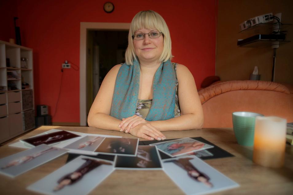 Michaela Kröger verlor ihr Kind in der 35. Schwangerschaftswoche. Neo Alexander wurde still geboren. Die Kamenzerin geht sehr offen mit dem Tabu-Thema um.