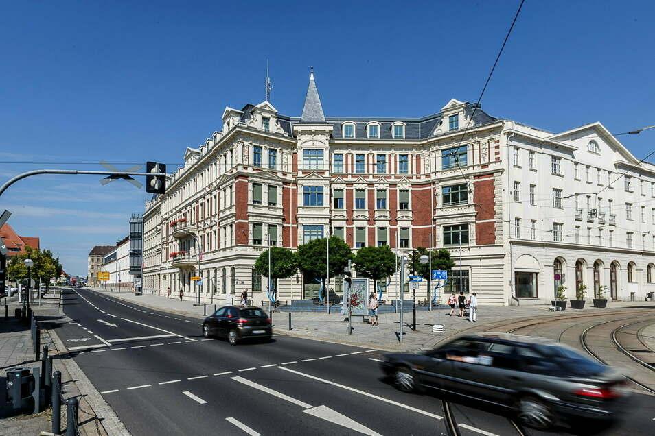 Das Landratsamt in Görlitz: Nimmt man hier auf eine Firma Einfluss?