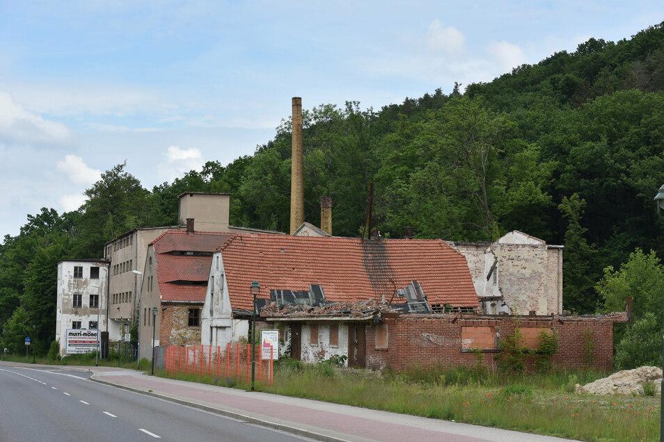 Dieses Foto vom Juni dieses Jahres zeigt das Dach noch intakt, das jetzt eingestürzt ist.