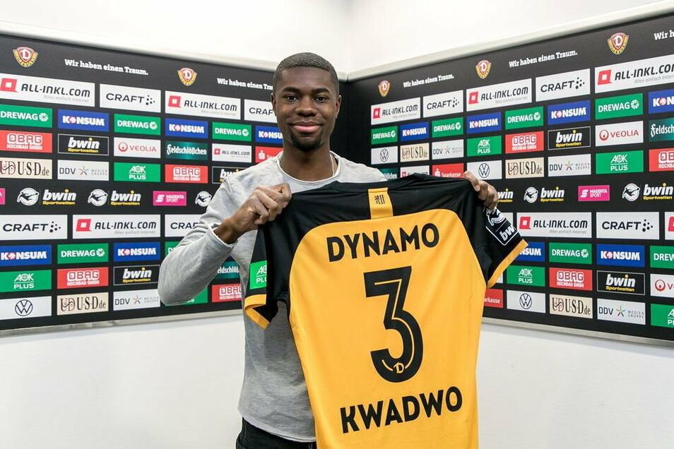 Leroy Kwadwo ist bei Dynamo schnell angekommen.