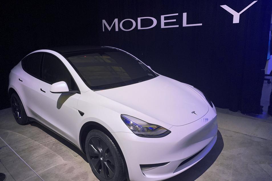 Das Tesla Model Y wird  ab August in Deutschland ausgeliefert.