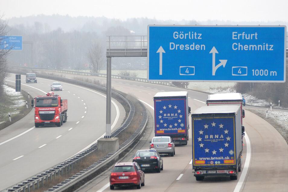 An der Autobahn A4 bei Deutschenbora soll ein neuer Gewerbepark entstehen. Eingekesselt von zwei Autobahnen fürchten die Anwohner weitere Lärmbelastungen.