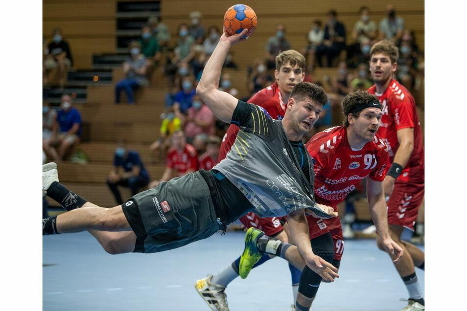 Handballspielen kommt für den HC Elbflorenz derzeit nicht infrage - mehrere Profis wurden positiv auf das Coronavirus getestet.