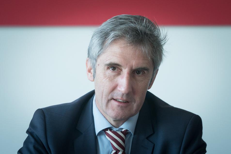 SPD-Landtagsabgeordnete Frank Richter zum Plossenausbau: Zusammen mit SPD, Bürgerinitiative, Grünen und Linken trete er für eine sofortige Tonnage-Begrenzung und gegen den geplanten Maximalausbau ein.