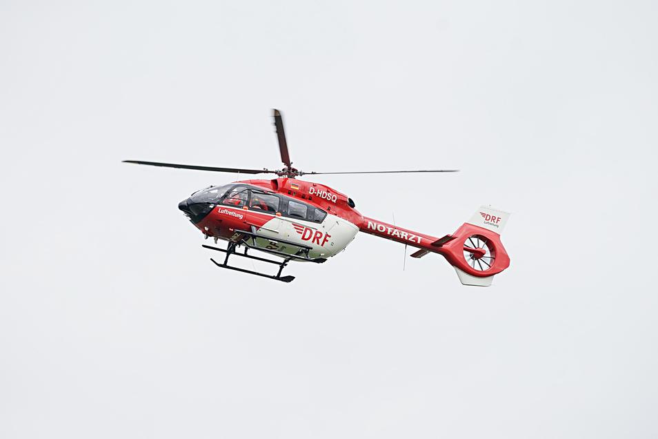 Rettungshubschrauber sind im vergangenen Jahr 172-mal auf dem Gelände des Bautzener Krankenhauses angekommen oder gestartet.