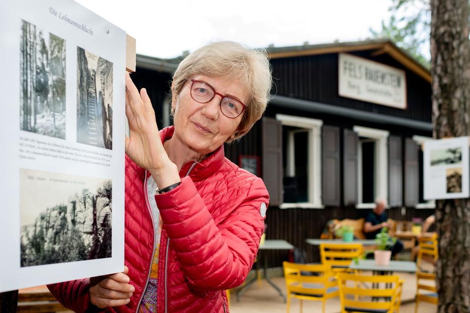 Für Maria Schulte-Herbrüggen ist der Rauenstein ein Stück Familiengeschichte.