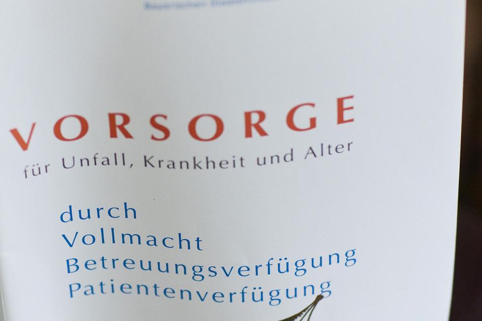Symbolfoto: Der Landkreis Mittelsachsen sucht ehrenamtliche Betreuer.