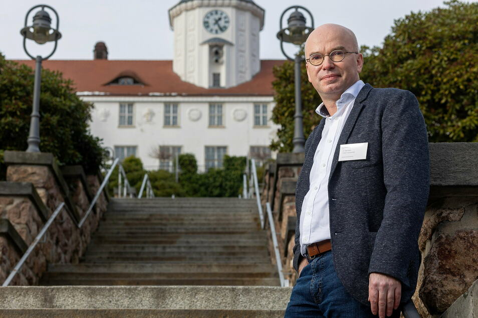 Sieht mehr Patienten mit psychischen Problemen infolge von Corona, auch auf die Gottleubaer Klinik zukommen: Dr. Andreas Seemann.