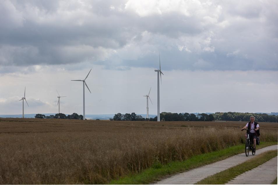Die Windanlagen östlich vom Klingenberger Ortsteil Colmnitz sollen durch neue ersetzt werden. Die Diskussion darüber hat begonnen.