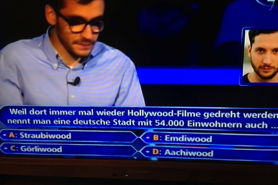 Und auch wenn Görliwood am Montag den Kürzeren gegen Günter Jauch zog, ganz ohne den Filmort an der Neiße kommt auch der Talkmaster nicht aus.