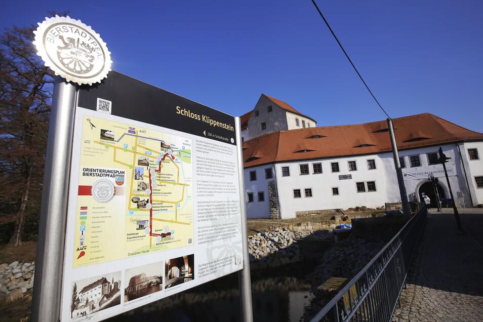 Das Museum Schloss Klippenstein in Radeberg ist geschlossen. Jetzt werden die Mitarbeiter in Kurzarbeit geschickt.