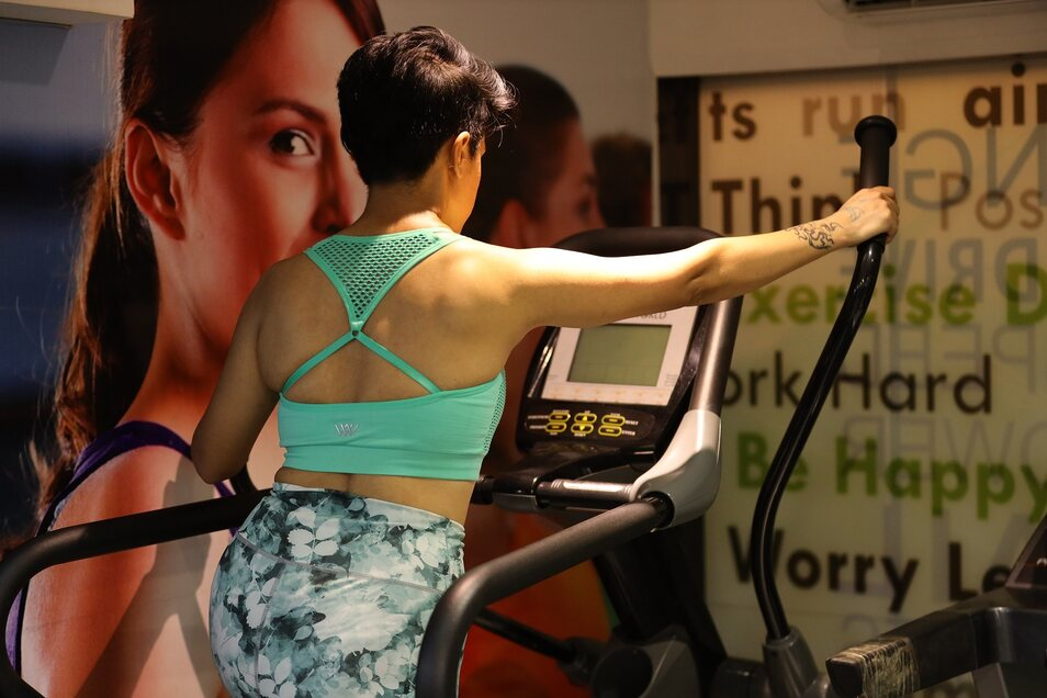 Training im Sport-BH ist in einem Fitnessstudio in Dänemark nun möglich.