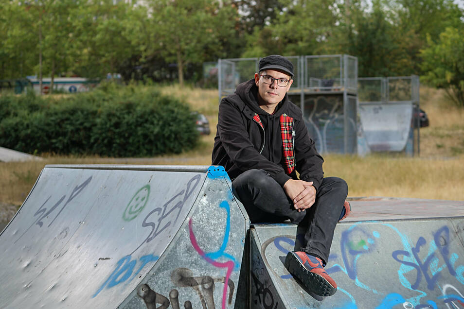 Die Skateranlage im Stadtteil Gesundbrunnen ist schon lange verschlissen. Nun will die BWB sie modernisieren, das freut Streetworker Benno Auras sehr. Doch einige Stadträte stellen den Standort infrage.